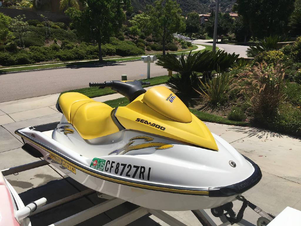 2005 Sea Doo GTI RFI, Corona CA - - PWCTrader com